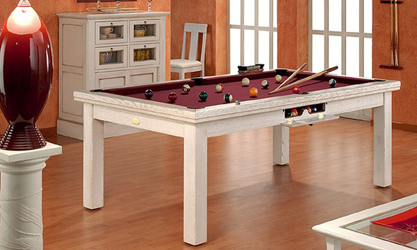 billard transformable table manger. Black Bedroom Furniture Sets. Home Design Ideas