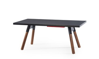 Table de ping pong convertible 180 coloris noir