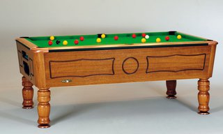 Billard Pool 7ft Balmoral Chataignier