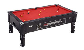 Billard BlackPool 7ft Noir à monnayeur