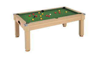 billard pool claridge 6ft chne clair - Billard Et Table A Manger