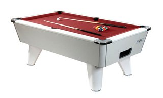 Billard Club 6ft Blanc