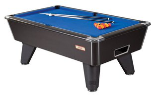 Billard Club 6ft Noir