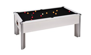Billard Maryland 7ft Blanc