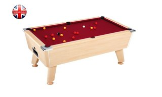 Billard Sheffield 7ft Chêne Clair