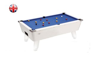 Billard Pool Outdoor 7ft Blanc