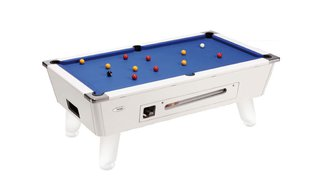Billard Outdoor 7ft Blanc Monnayeur