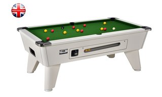 Billard Sheffield 7ft Blanc à monnayeur 2.0