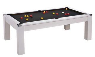 Billard Pool Sutton 7ft Blanc