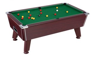 Billard Sheffield 6ft Marron