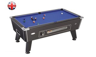 Billard Sheffield 6ft Noir à monnayeur