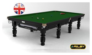 Snooker RILEY Club 12 ft noir