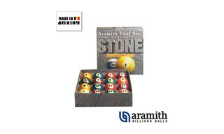 Billes Américaines Aramith 57 mm Stone