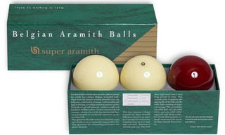 Billes Carambole Super Aramith 61,5 mm