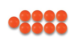 Balles Baby Foot Plastique Orange (par 10)
