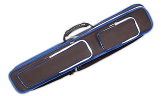 Etui souple queues de Billard Noir 4 x8