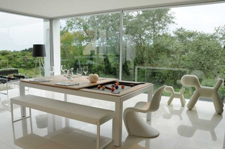 Billard Table Fusion Aramith Acier Blanc 7ft