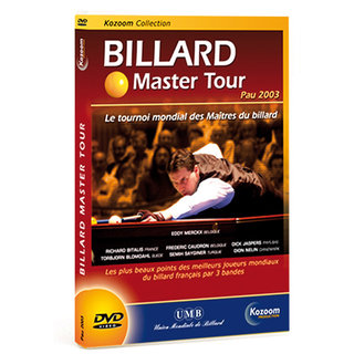 DVD Billard Master Tour