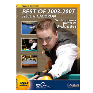 DVD Frédéric Caudron Best of 2003-2007