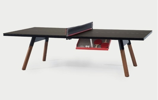 Table de ping pong convertible 220 coloris noir